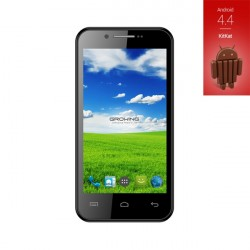 Smart Phone Dragon, 4.5'' QHD, Quad Core, 1Gb/8Gb, Dual Sim, Android 4.4, Black