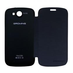 Capa File Cover + Pelicula de Proteção para Smartphone Falcon