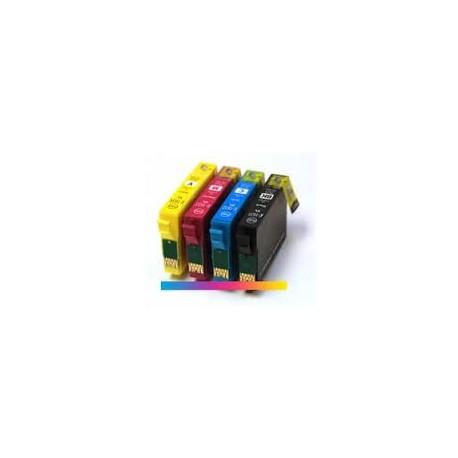 Pack 4 Tinteiros Compatíveis Epson 16 XL T1631/T1632/T1633/T1634