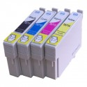 Pack 4 Tinteiros Compatíveis EPSON T0711/2/3/4