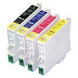 Pack 4 Tinteiros Compatíveis EPSON T0891/2/3/4