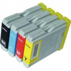 Pack 4 Tinteiros Brother Compativél LC970/1000