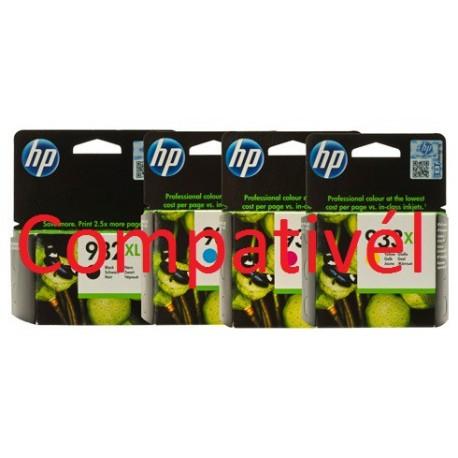 Conjunto 4 Tinteiros HP 932/933XL BK/C/M/Y