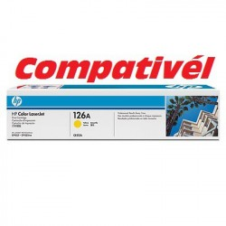 Toner Compativél HP 126A Yellow LaserJet Print Cartridge