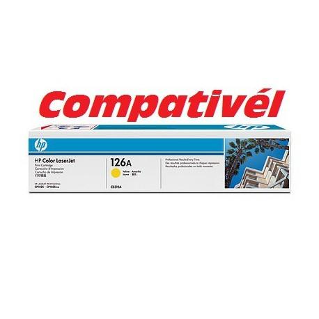 Toner Compativél HP 126A Yellow LaserJet Print Cartridge