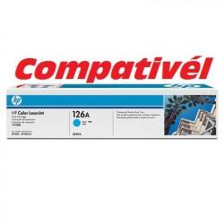 Toner Compativél HP 126A Cyan LaserJet Print Cartridge