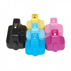 Conjunto 6 Tinteiros HP 363 XL Compatível
