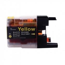 Tinteiro Brother Compatível LC1220/1240/1280 ( amarelo)
