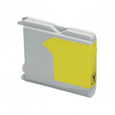 Tinteiro Brother Compatível LC970/1000 (amarelo)