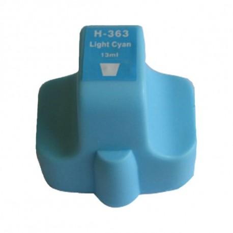 Tinteiro HP Compatível 363 (azul claro)
