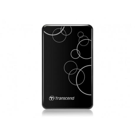 Disco TRANSCEND Storejet2.5P 500GB USB3.0 Preto