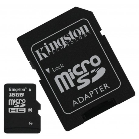 Cartão Micro SD Kingston 16GB