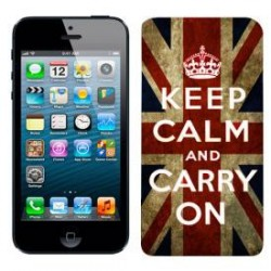 Capa traseira iPhone 5 Keep Calm
