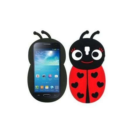"Capa Silicone ""Joaninha"" Galaxy S4 mini"