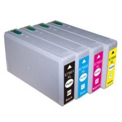 Pack 4 Tinteiros Compatíveis Epson 79XL - T7911/7912/7913/7914 XL
