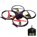 Drone Valkyria Quadricoptero 34cm camêra