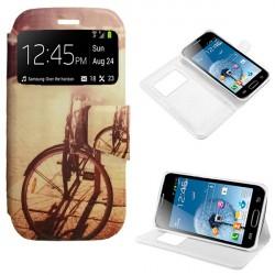 Capa Flip Cover Bike Samsung Galaxy Trend S7560