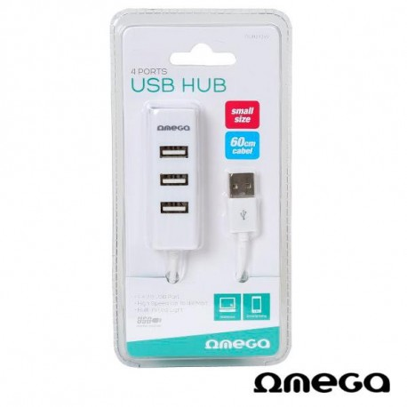 USB HUB Omega 4 ports.