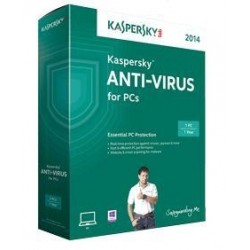 Kaspersky Anti-Virus2018 3 User 1 Ano BOX RW
