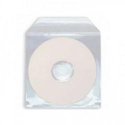 Envelope PVC Pra CD DVD (100Unid.)