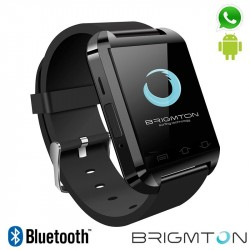 Smartwatch Brigmton BT2 Bluetooth Preto