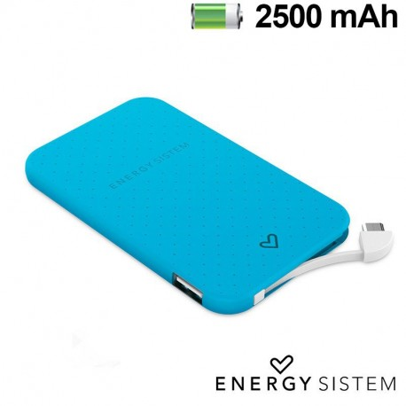 Bateria Externa Micro-usb Power Bank 2500 mAh Energy Sistem