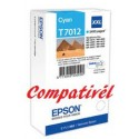 Tinteiro Compatível Epson T7012 - Cian