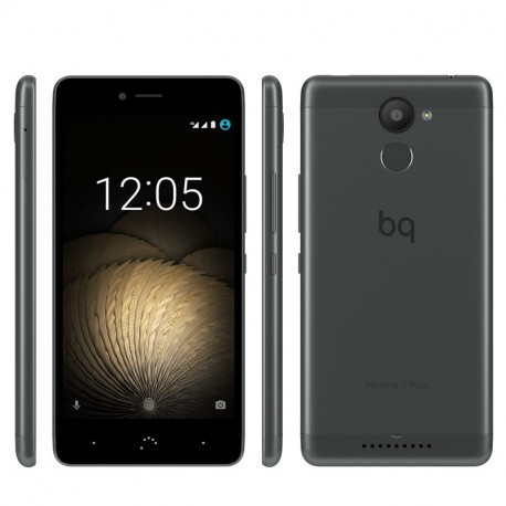 BQ Aquaris U Plus (Gb+32Gb) black/anthracite grey