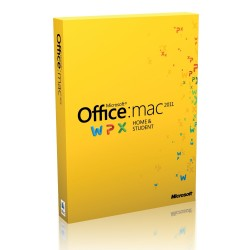 Office Mac Home Student 2011 English Eurozone Medialess