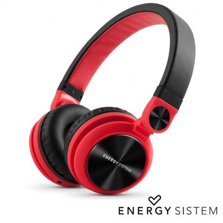 Auriculares Stereo Energy Sistem DJ2 Vermelho/Preto