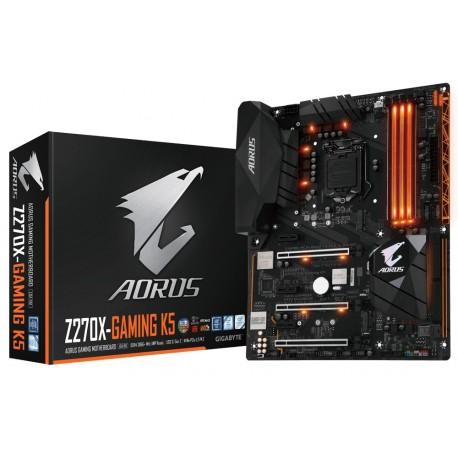 MB GIGABYTE Z270 SCKT1151 4XDDR4/1HDMI/1DP/USB-C - Z270X-Gaming K5