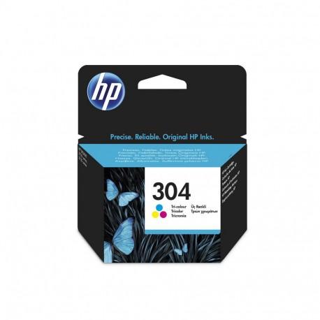 Tinteiro HP Original 304 Tricolor