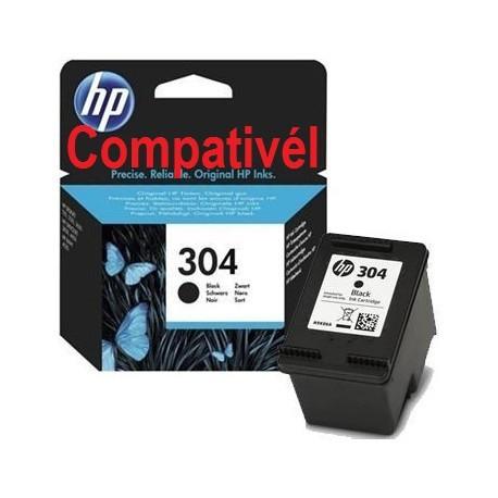 Tinteiro HP 304 XL Compativél Preto