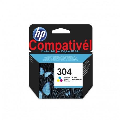 Tinteiro Compativél HP 304 XL Tricolor