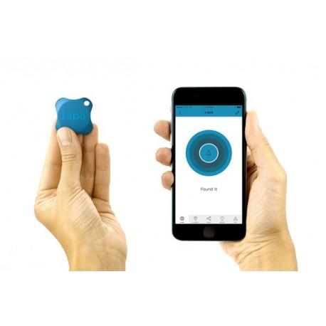 Eletronic Bluetooth Tracking Device LAPA (Azul, Branco, Preto)