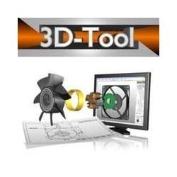 3D-Tool V12 Premium Single User License including 3D-NativeCAD Converter