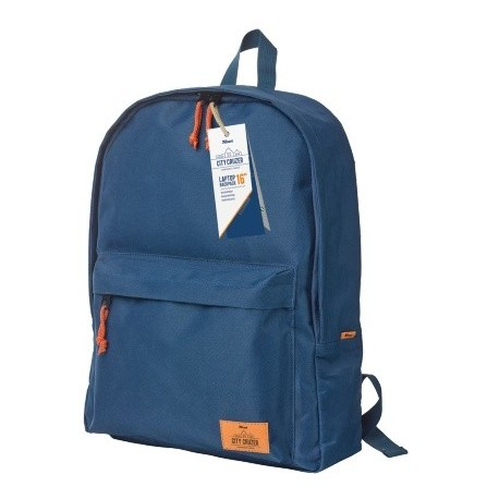 "Mochila TRUST City Cruzer Backpack for 16"" Azul"