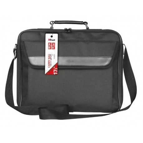 "Mala TRUST Atlanta Carry Bag para 17.3"" Notebook Preto"