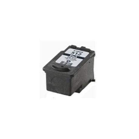 inteiro Canon Compatível PG-512 XL Preto (PG-510)