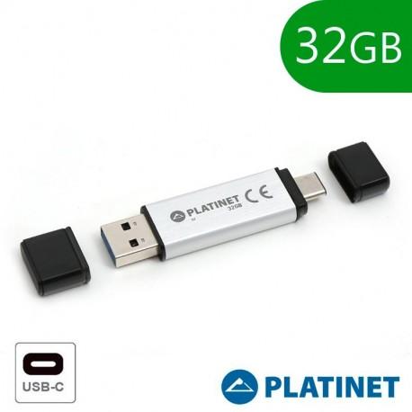 Pen Drive DANE-ELEC 32GB Capless Blue/Brown USB 2.0