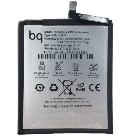 Bateria Original BQ Aquaris X5 (Bulk)