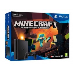 Consola Sony PS4 500GB D Black + Minecraft