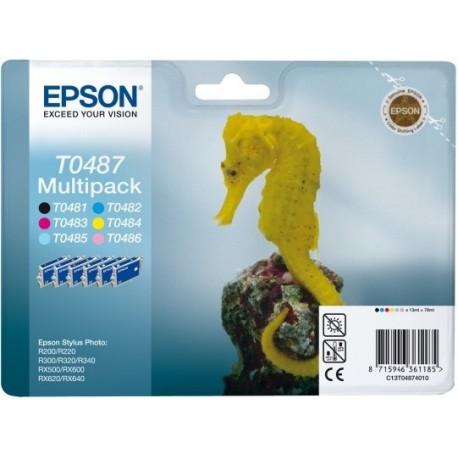 Tinteiros Epson T0487 Multipack