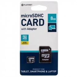 Cartao MemoriaMicro SD PLatinet 8GB Class 6