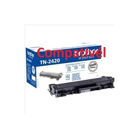 Toner Compativel Brother TN-2410 / TN-2420 Preto ~ 3.000 Paginas
