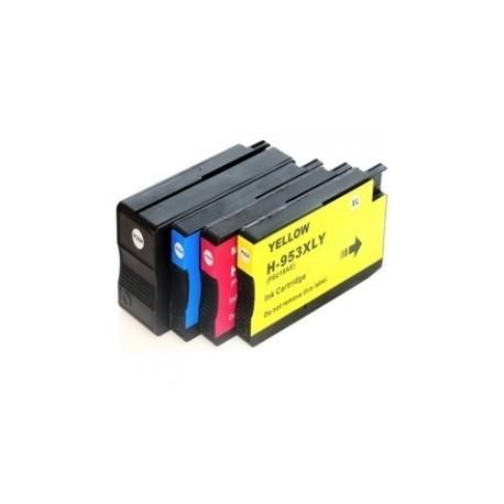 Pack 4 Tinteiros Compatíveis, HP 953 XL / HP 957 XL