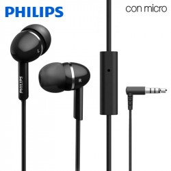 Auriculares 3,5 mm Philips In-Ear Stereo Com Micro