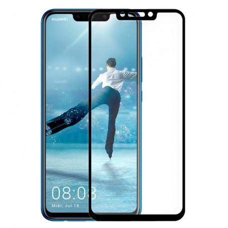 Pelicula Cristal Temperado Huawei P Smart Plus (3D Negro)