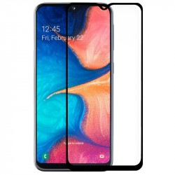 Pelicula Cristal Temperado Samsung A202 Galaxy A20e (FULL 3D Negro)