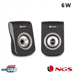 Colunas para PC NGS SB250 2.0 (6W)